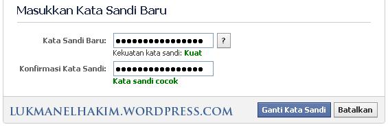 masukkan password anda