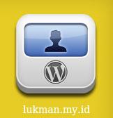 Halama front end pada wordpress